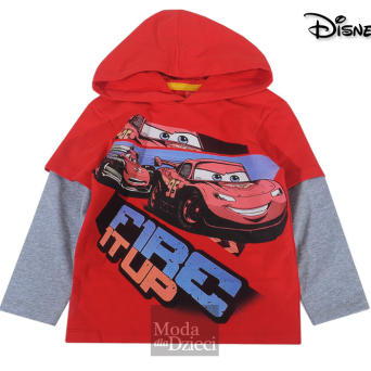 CARS Bluza z kapturem