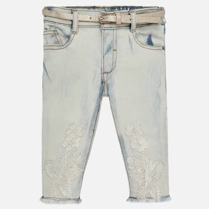 8f9eec540618f MAYORAL- Długie spodnie z haftem